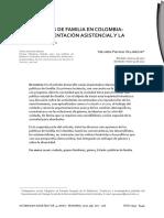Puyana, Yolanda Las Políticas de Familia en Colombia. Entre La Orientación Asistencial y Democrática. ( 2012)