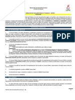 Edital Normativo Concurso Prefeitura Municipal Picui Retificado