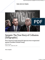 Spygate-The True Story of Collusion