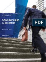 Doing Business in Colombia 2013 (Ing)