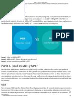 MBR vs GPT_ ¿Cuál Es Mejor