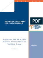 Antibiotic Treatment for Cystic Fibrosis