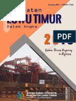 Kabupaten Luwu Timur Dalam Angka 2018