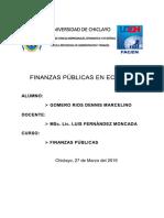 Trabajo Final de Finanzas Publicas Ecuador