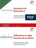 Clase 05 - Deflexiones - Ecuación de La Elástica