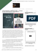 Curta da Semana_ _Alternative Math_ - a ameaça do anti-intelectualismo e irracionalismo _ Cinema Secreto_ Cinegnose.pdf
