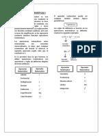 Operaciones Matemáticas I-tema12