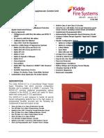 Fire-Suppression Control Panel (AEGIS-XLT) 84-70101793