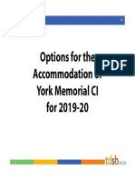 York Memorial Accommodation Options