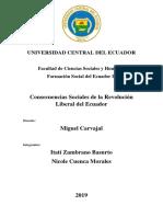 consecuencias sociales de la revolución Liberal en Ecuador