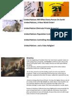 UN Agenda 21, Public Presentation