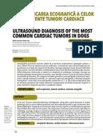 Diagnosticarea cardiaca a tumorilor de cord la caine.pdf