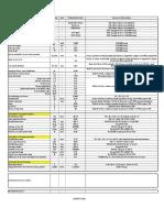 TRRL Excel sheet