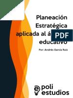 Planeación Estratégica Aplicada Al Ámbito Educativo