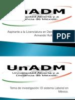 El Sistema Laboral en Mexico