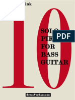 10 Solo Pieces for Bass Guitar