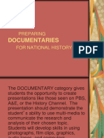 DOCUMENTARIES.ppt