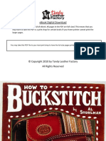 Al Stohlman - How to Buckstitch