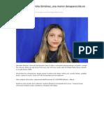 Buscan a Alexandra Giménez, Una Menor Desaparecida en San Fernando _ Que Pasa Zona Norte