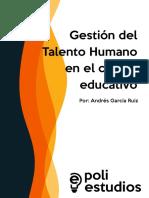 Gestión Del Talento Humano en El Campo Educativo