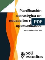 Planificación Estratégica en Educación, Retos y Oportunidades