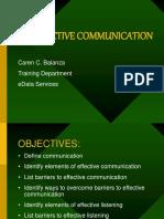 03 Effective Communication