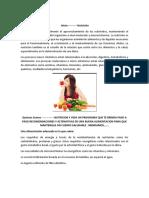 Nutricion y Vida