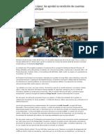 HCD de Vicente López_ Se Aprobó La Rendición de Cuentas Del Ejecutivo Municipal _ Que Pasa Zona Norte