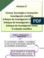 02 Ciencia, Tecnología e Innovación. Investigación Científcica Enfoques de Investigación