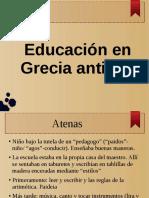 Educación en Grecia