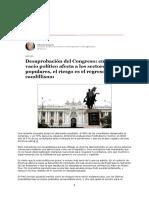 Crisis y vacío político - Gudynas