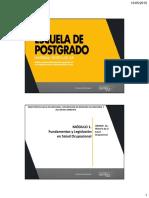 Unidad 1.- Historia Salud Ocupacional - Dr. Llap