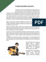 Comentarios Guitarra