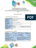 Guía de actividades y rúbrica de evaluación - Etapa 5 - Evaluar el impacto del Análisis del Ciclo de Vida.docx