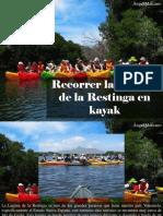 Ángel Marcano - Recorrer La Laguna de La Restinga en Kayak