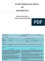 Pca Séptimo Matematicas