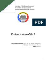 Proiect Auto