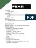 FEAR Directors Manual
