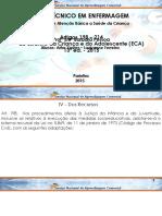 apresentação em PPT - Seminario - Artigo 198 a 214 (ECA) - curso técnico em enfermagem