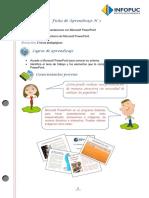 Powerpoint Fichas de aprendizaje