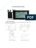 LCD Instructions SW900