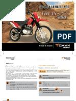 Corven Manual de Usuario Triax200