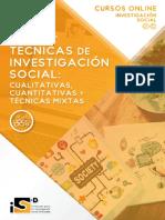 4 Programa Técnicas de Investigación