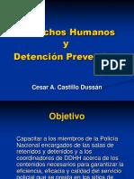 Ddhh Detención Cesar Castillo