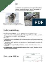 B Factores Bióticos y Abióticos