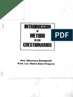 Introduccion al Metodo de CUESTIONARIOS