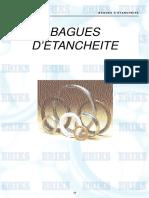 Bague d'Etanchéité Catalogue