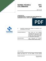 NTC550 Elaboracion Curado Concreto