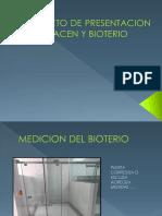 Proyecto de Presentacion de Almacen y Bioterio
