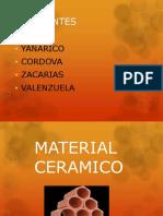 Material Ceramico - Yanarico